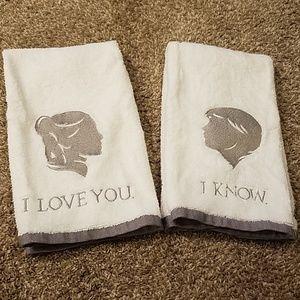 Star Wars Hand Towel Set